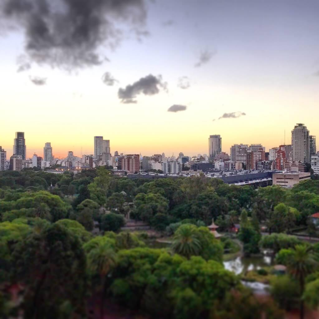 Argentinien Reiseplanung: Skyline von Buenos Aires