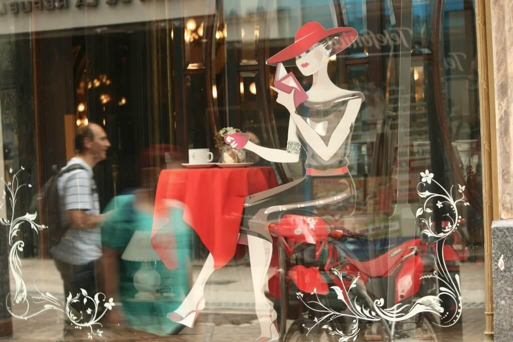 Argentinien Reiseplanung: Café in Buenos Aires