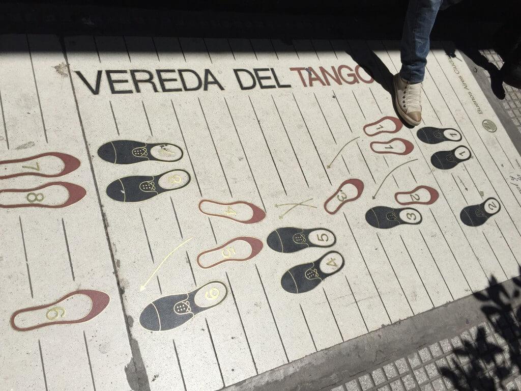 Argentinien Reiseplanung: Tangoschritte