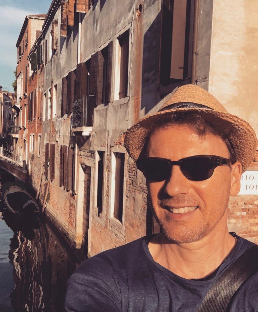 About: Martin Heckmann in Venedig