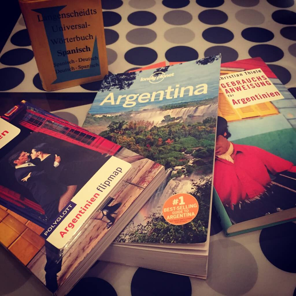 Argentinien Reisebericht Reiseplanung - die Literatur