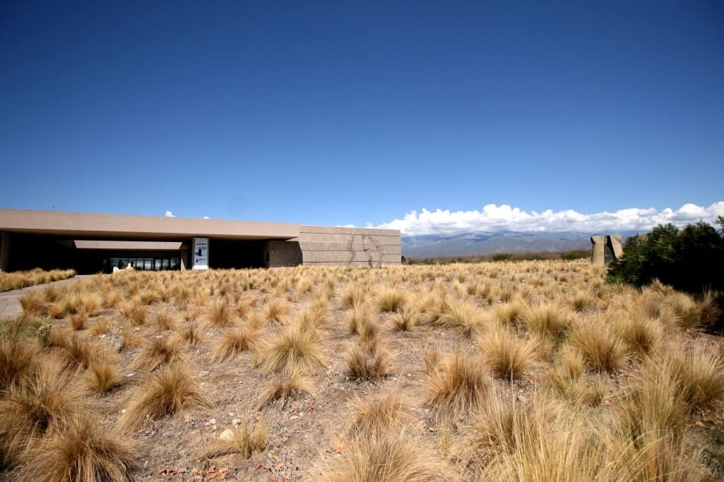 Argentinien Weinreise - Valle de Uco - Bodega Salentein - das Hauptgebäude