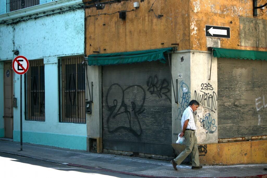 Historische Altstadt von Montevideo
