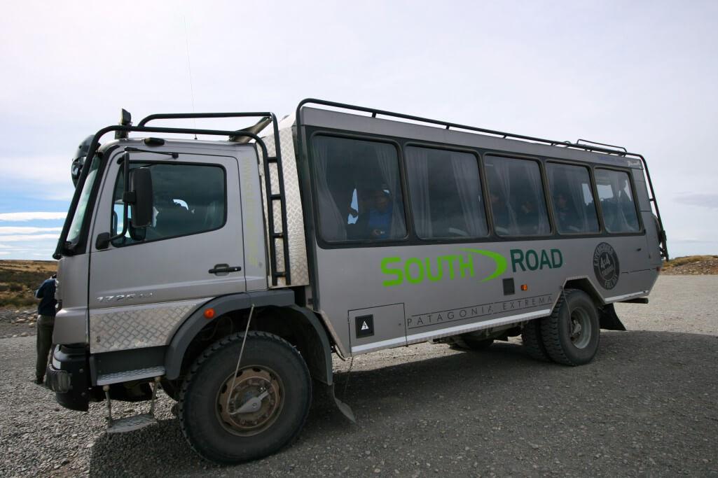 Reisetipps Patagonien: Geländegängiger Bus