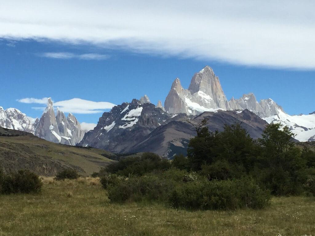 Reisetipps Patagonien: Blick auf den Fitz Roy