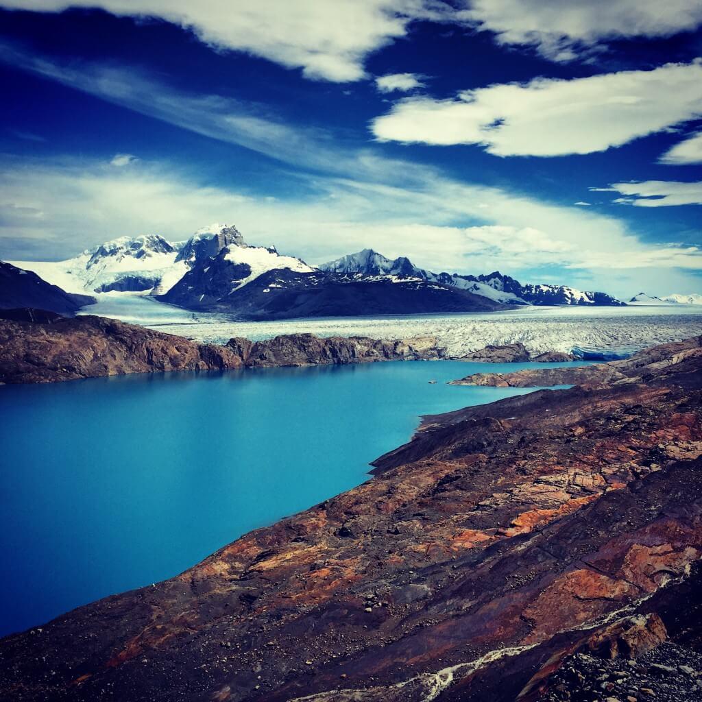 Patagonien - Blick auf den Upsala Gletscher