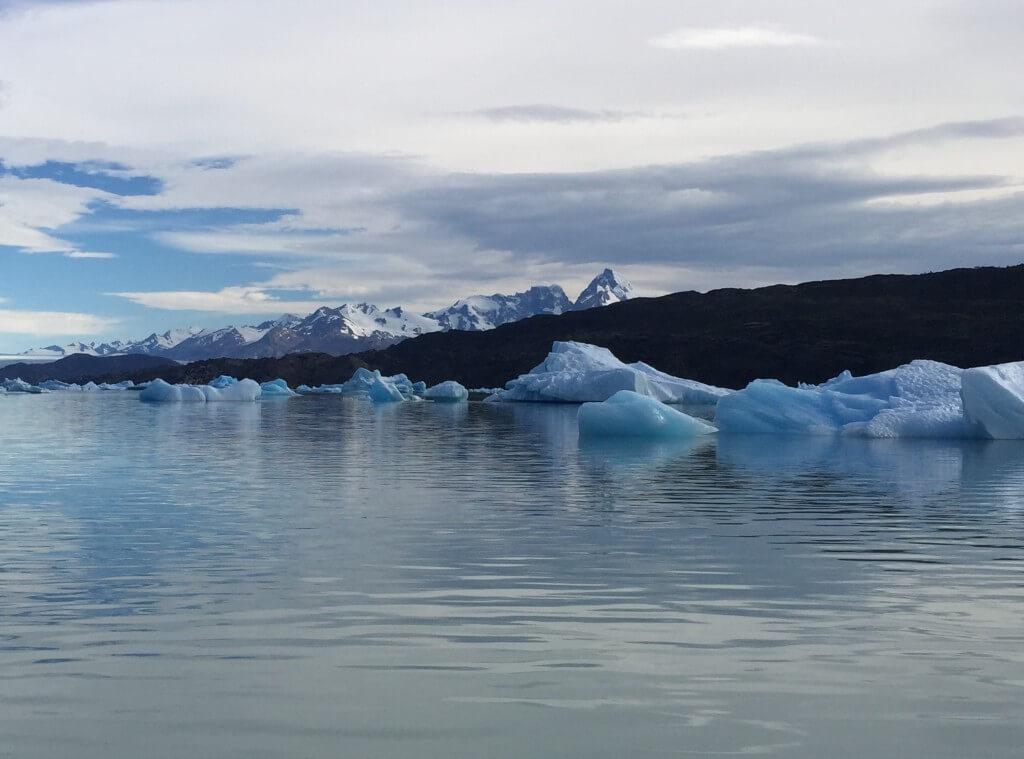 Reisetipps Patagonien: Upsala Gletscher - Eisschollen