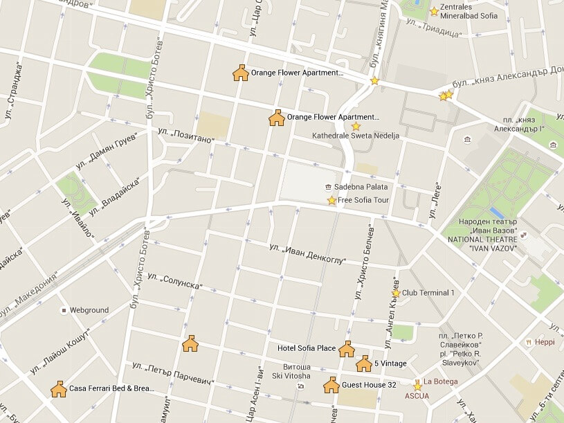 Reisetipp Sofia: Hotels im Zentrum