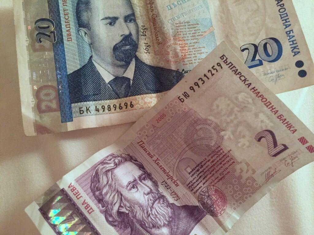 Reisetipp Sofia: Bulgarische Währung Lew