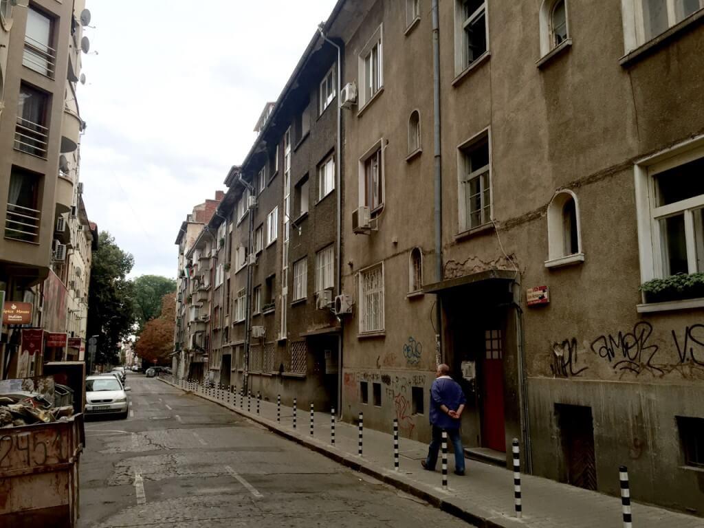 Reisetipp Sofia: Seitenstraße im Zentrum
