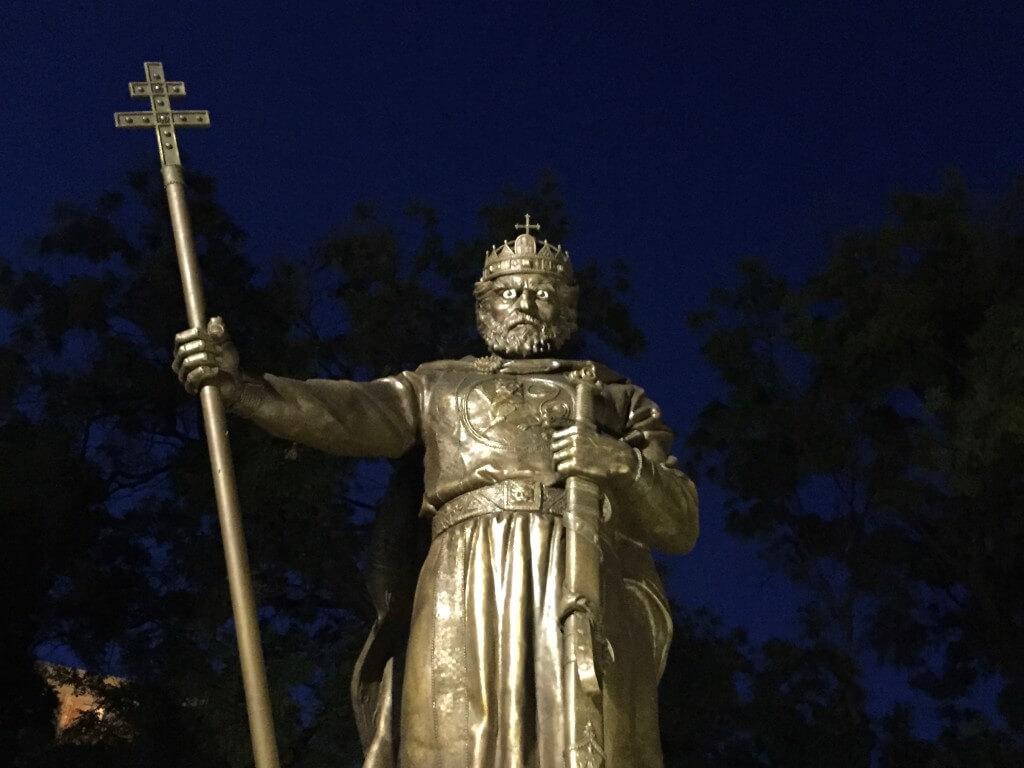 Reisetipp Sofia: Statue des Zaren Samuel
