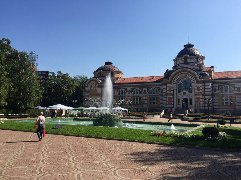 Reisetipp Sofia: Zentrales Mineralbad