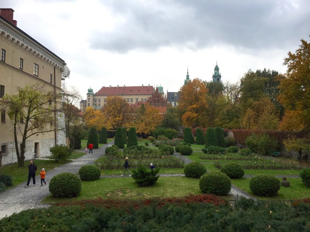 Reisetipps Krakau: Gartenanlage in der Altstadt