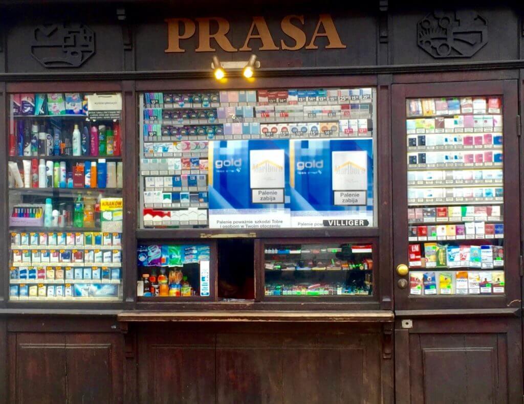 Reisetipp Krakau: Kiosk