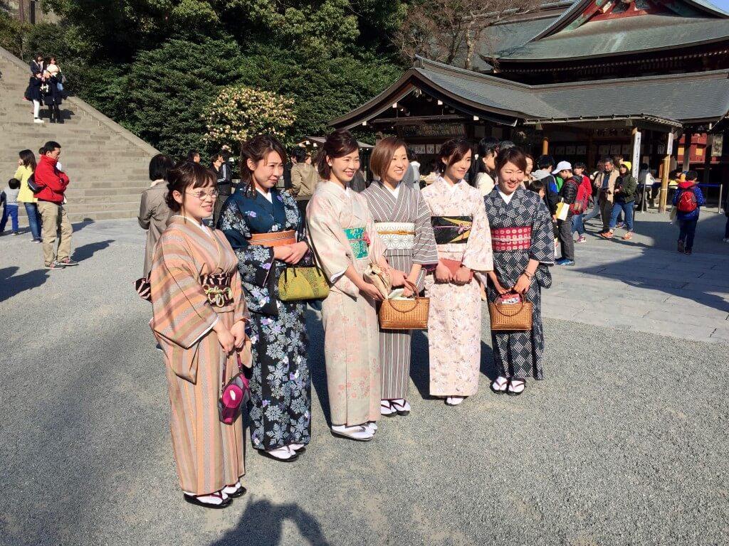 Japanischer Lifestyle: Tsurugaoka Hachiman-gū Tempel, Hamakura