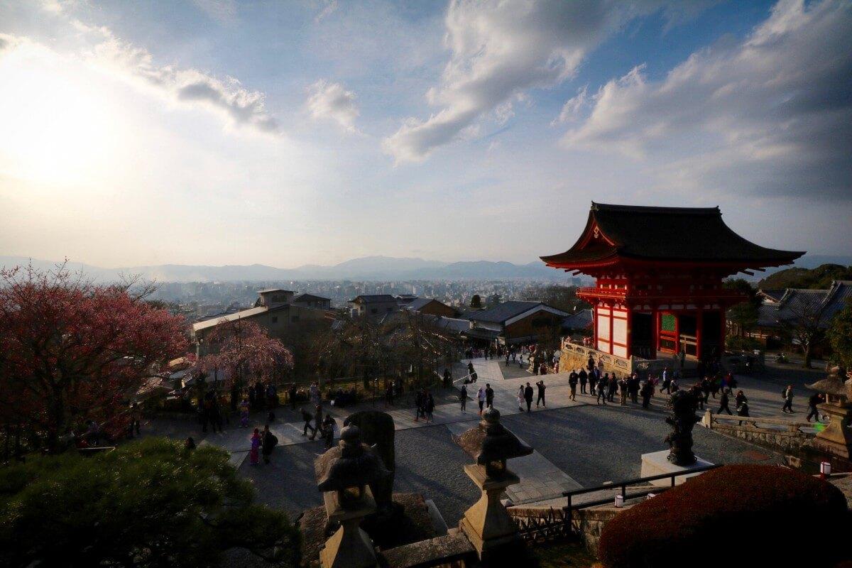Reisetipps Kyoto: Kiyomizu-dera Tempel am Abend