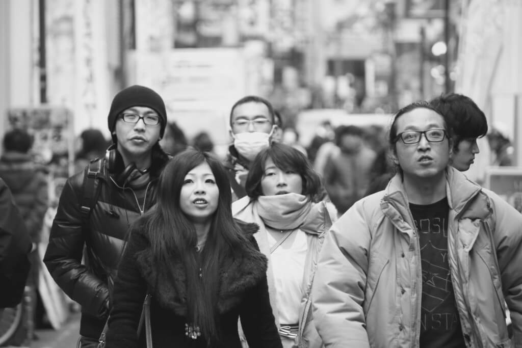 Japanischer Lifestyle: Einkaufsstraße in Kyoto