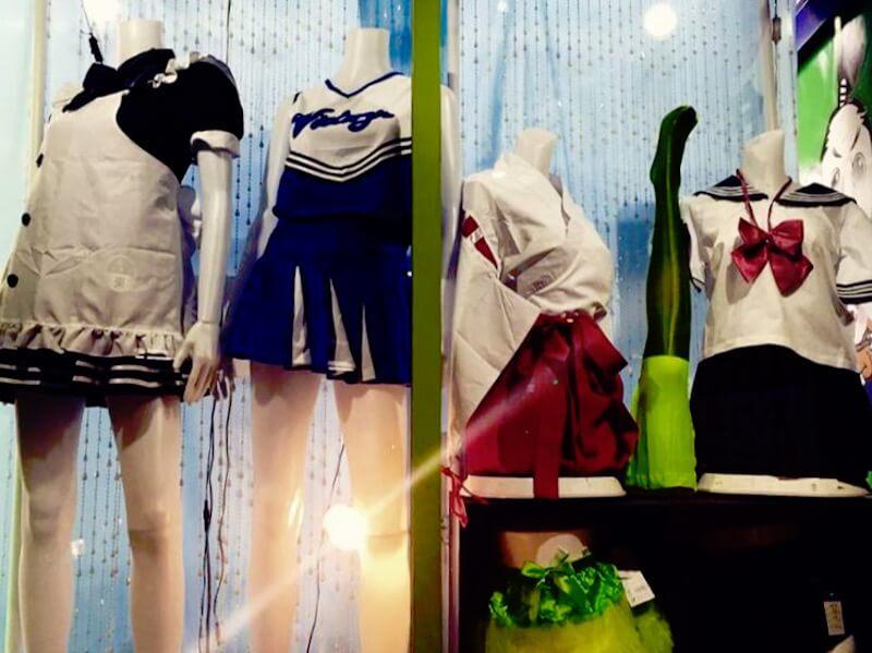Tokio Tipps: Laden für Schulmädchen-Uniformen