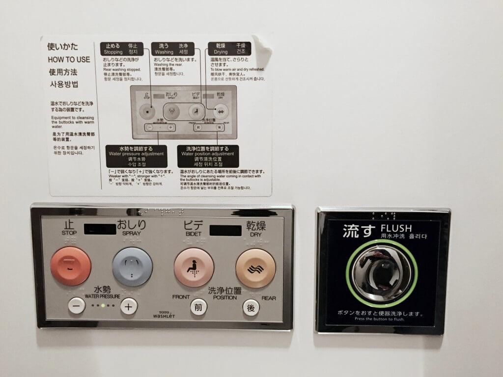Fakten über Japan: High-Tech Toilette