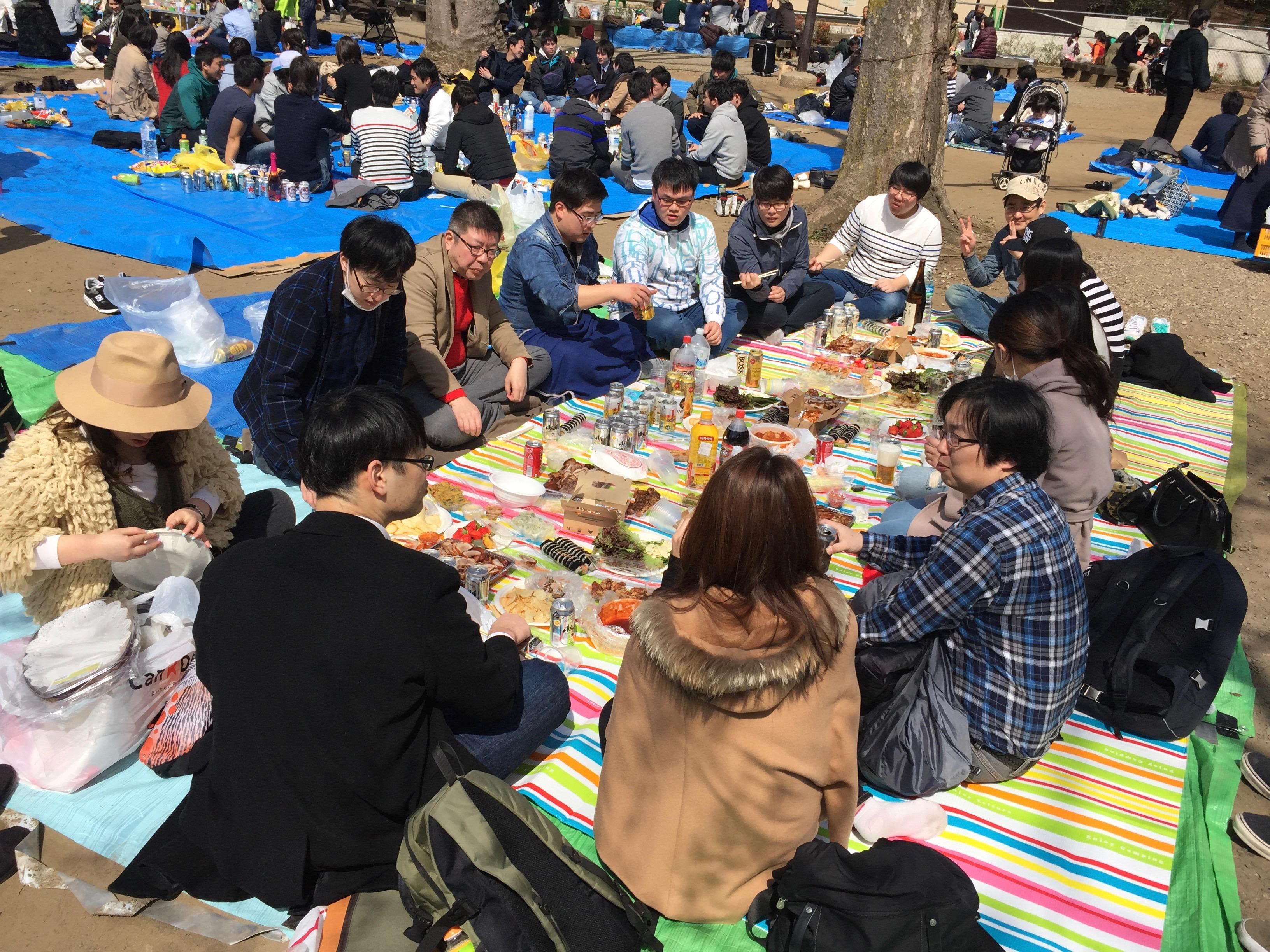 Tokio Tipps: Picknicker im Inokashira-Park