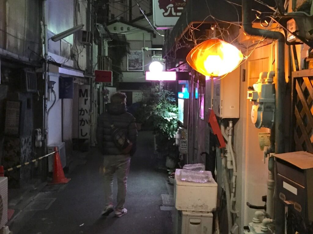 Tokio Tipps: Bar im Golden Gai Viertel, Tokio