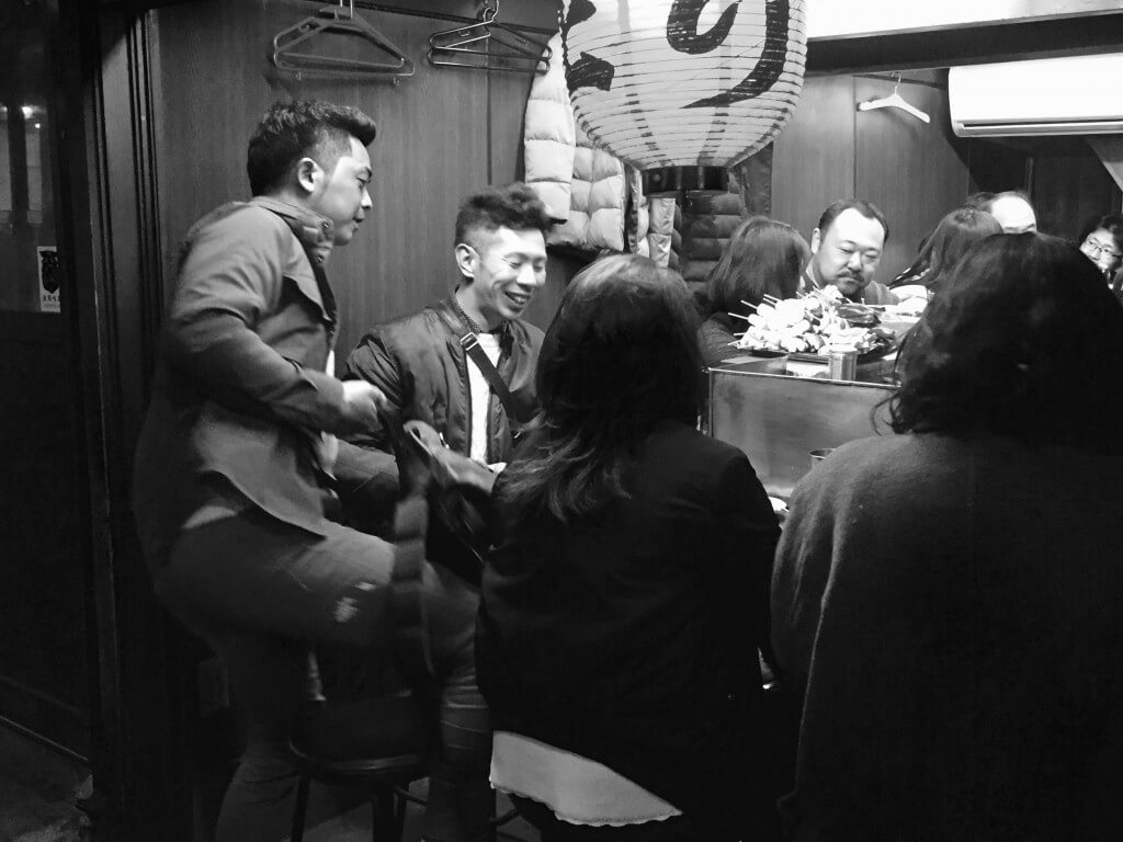 Tokio Tipps: Restaurant im Omoide Yokocho Viertel. Tokio