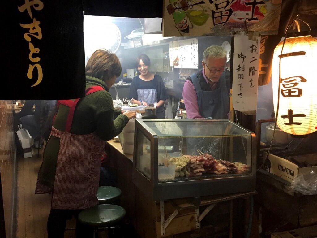 Tokio Tipps: Restaurant im Omoide Yokocho Viertel