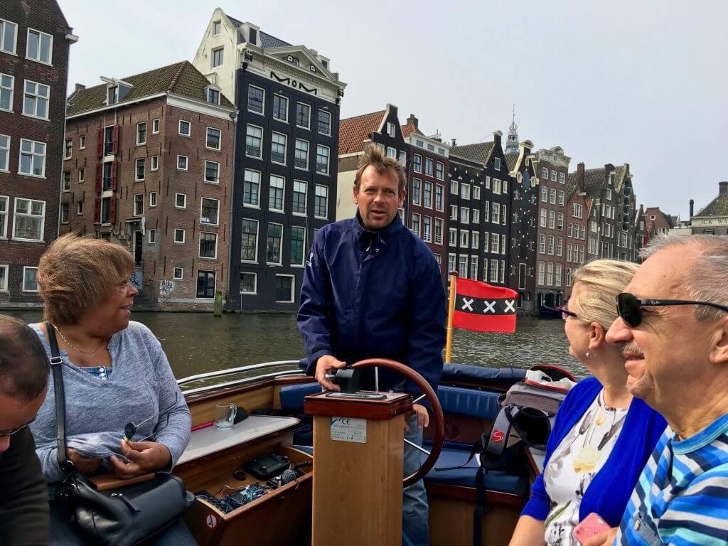 Insidertipps Amsterdam: Grachtenfahrt