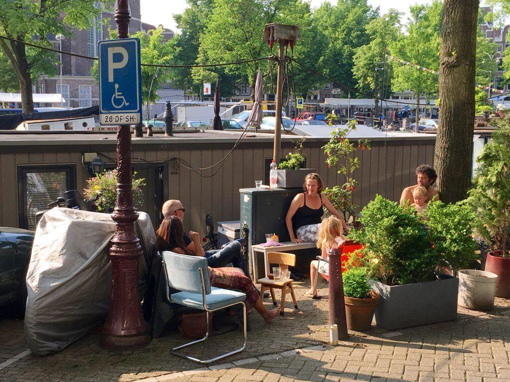 Insidertipps Amsterdam: Jordaan (Hausboot)