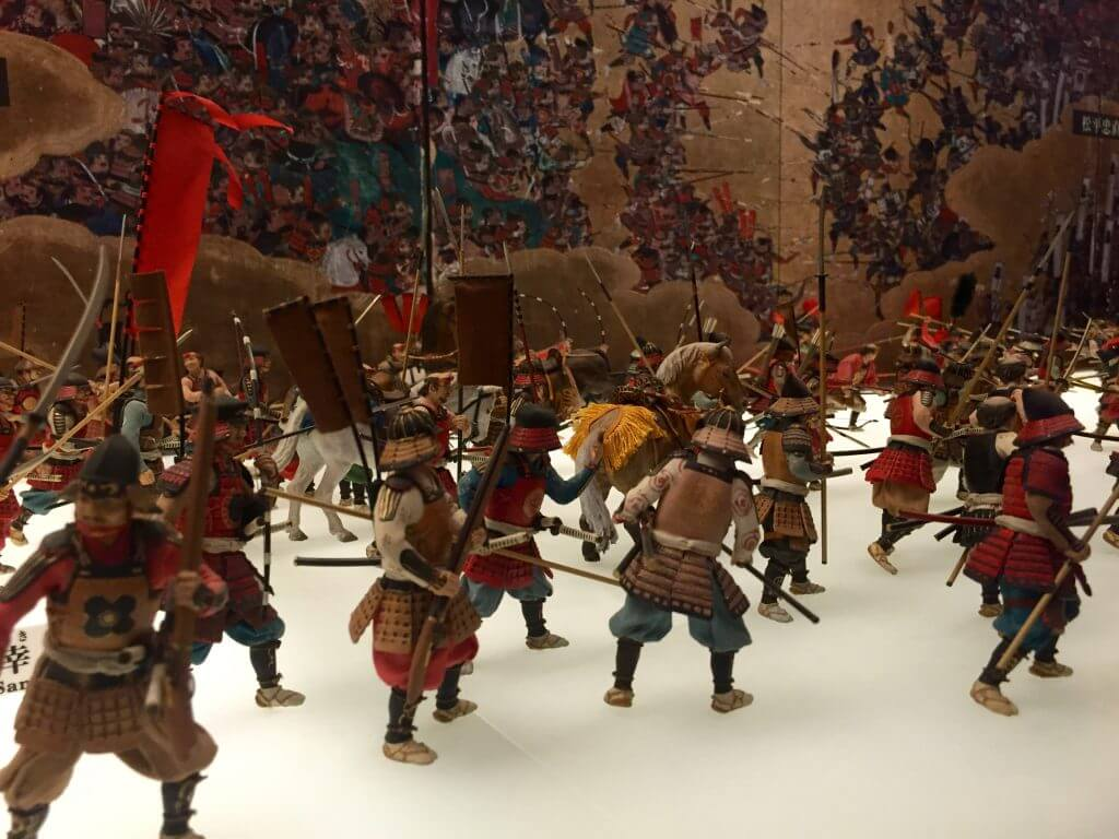 Reisebericht Osaka: Ausstellung in Ōsaka-jō