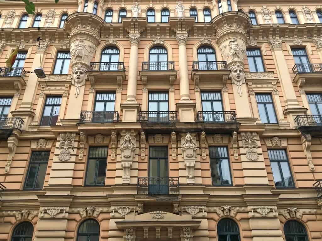 Reisetipps Riga: Jugendstilfassade