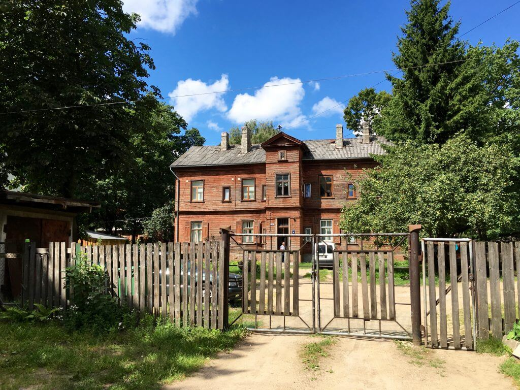 Reisetipps Riga: Holzhaus in Ägenskains