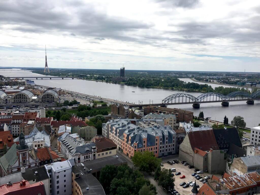 Reisetipps Riga: Blick von der Petrikirche