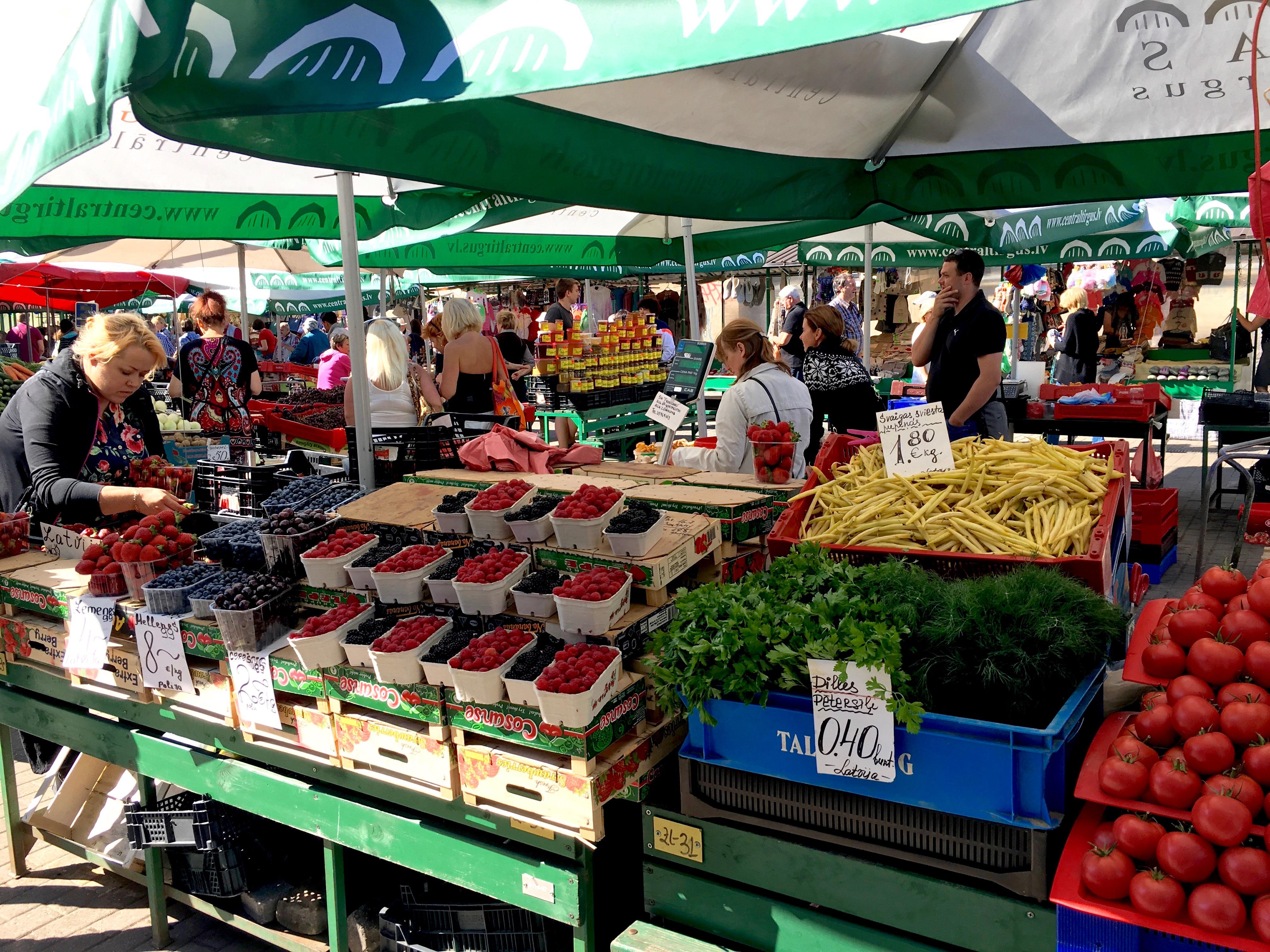 Reisetipps Riga: Zentralmarkt