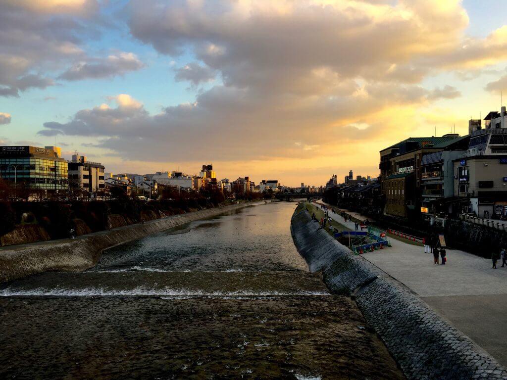 Reisetipps Kyoto: Abendstimmung