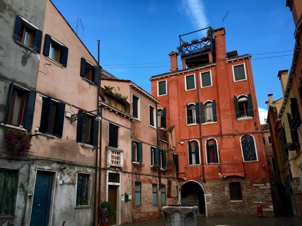 Reisetipp Venedig: Hinterhof in Dorsoduro