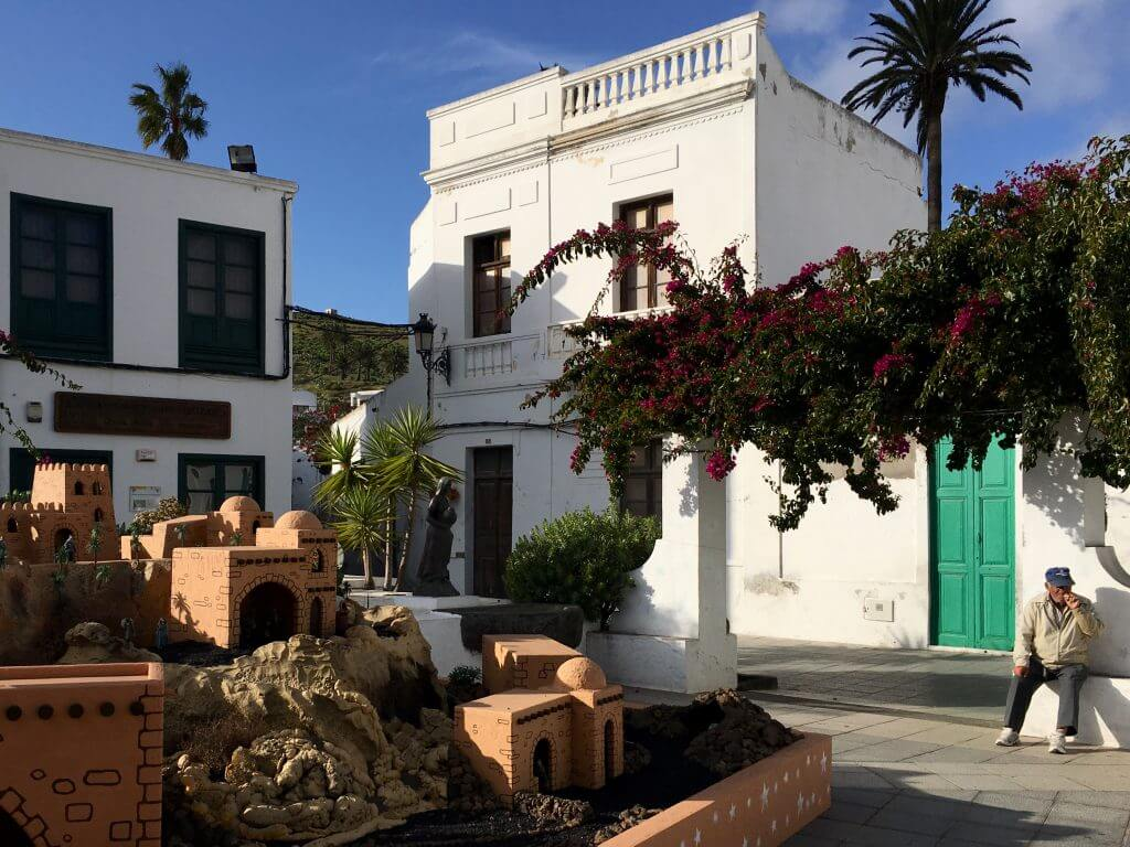 Reisetipps Lanzarote: Dorfplatz in Haría