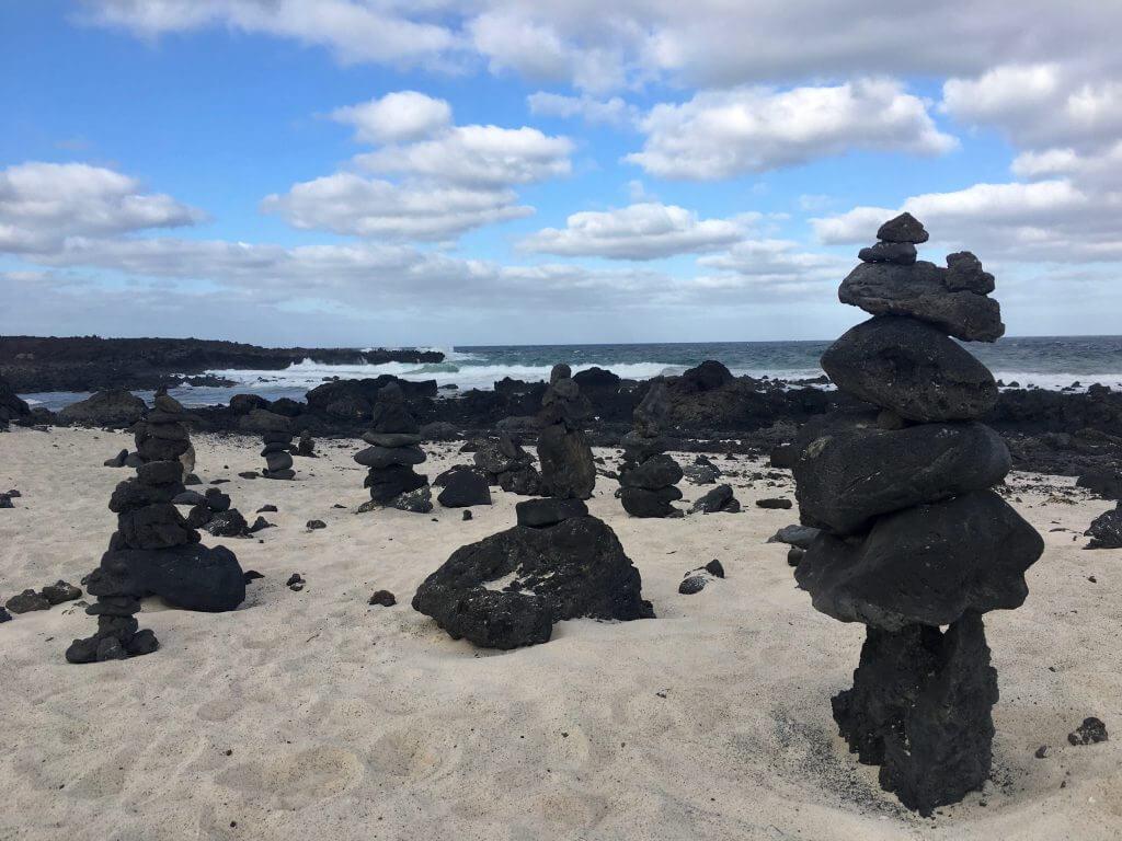 Reisetipps Lanzarote: Steinkunst an der Küste
