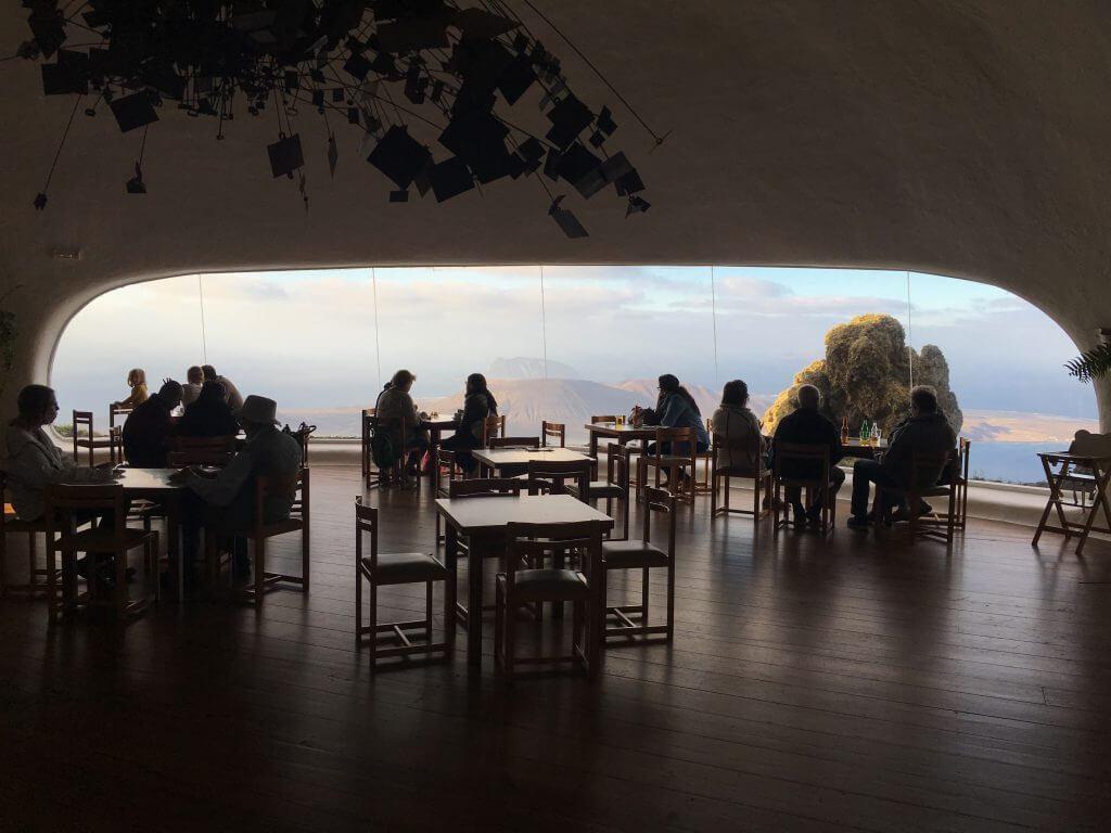 Reisetipp Lanzarote - Restaurant Mirador del Rio