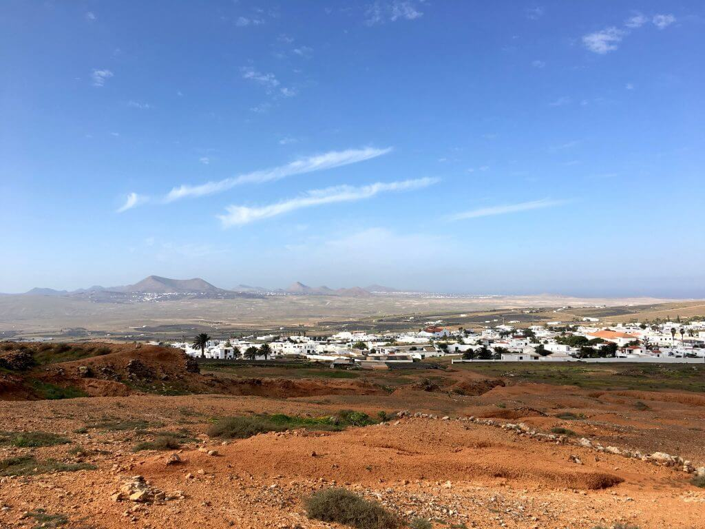Reisetipps Lanzarote: Blick vom Castillo Santa Barbara