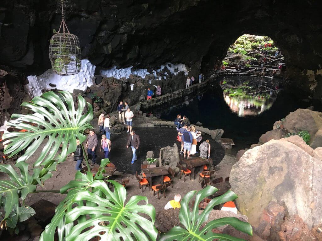 Reisetipps Lanzarote: Vulkansee - Jameos del Agua