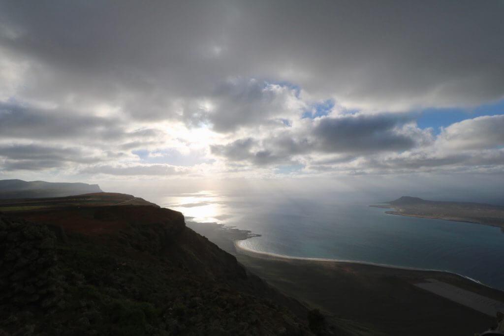 Reisetipps Lanzarote: Sonnenuntergang beim Mirador del Rio