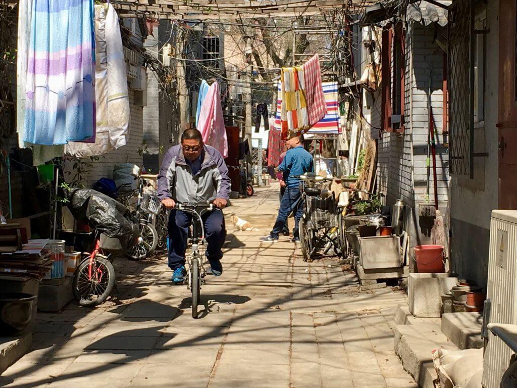 Erkenntnisse über China: Hutong mitten in Peking
