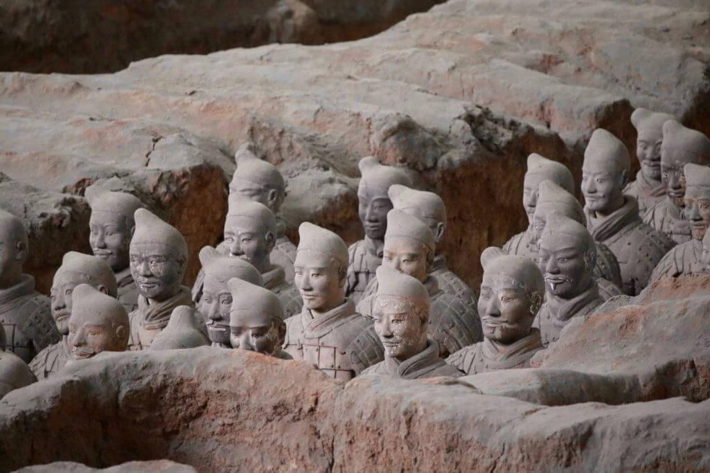 Erkenntnisse über China: Terrakotta Armee