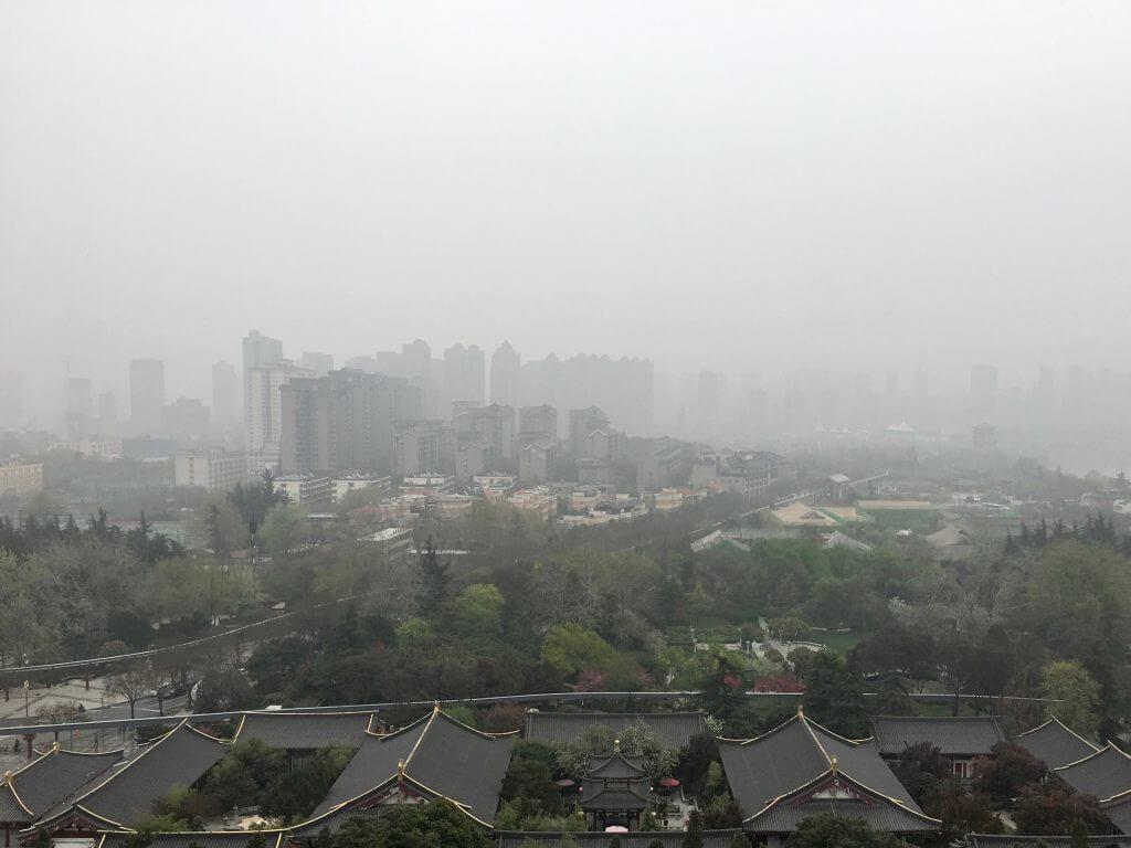 Erkenntnisse über China: Xi'an im Nebel