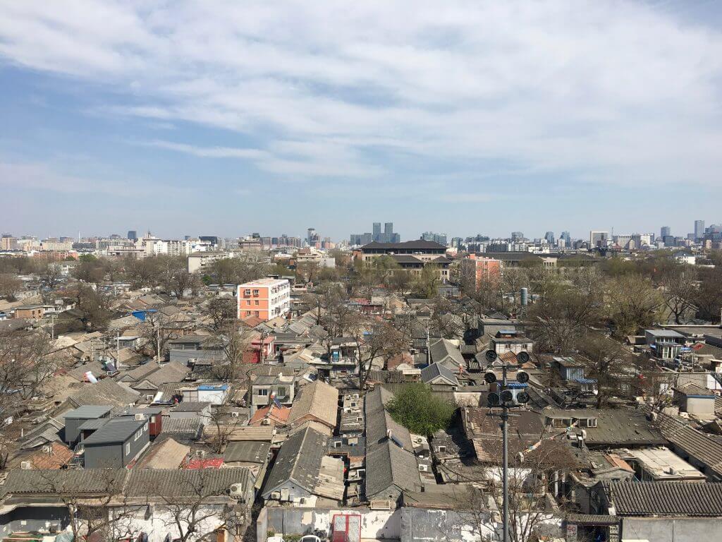 Reisetipps Peking: Blick auf Hutong in Peking