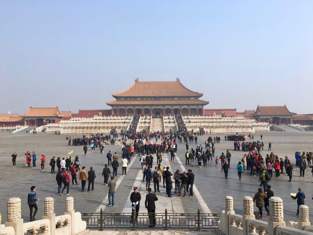 Die top 5 Peking Highlights: Blick auf die Verbotene Stadt