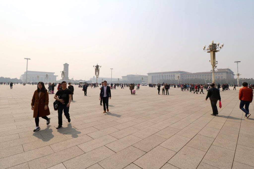 Die top 5 Peking Highlights: Tian'anmen-Platz in Peking