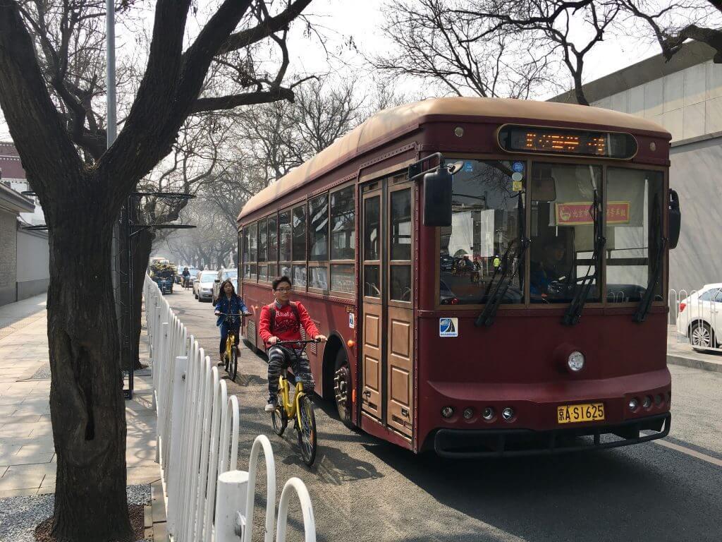Eindrücke von Peking - Straßenabsperrungen
