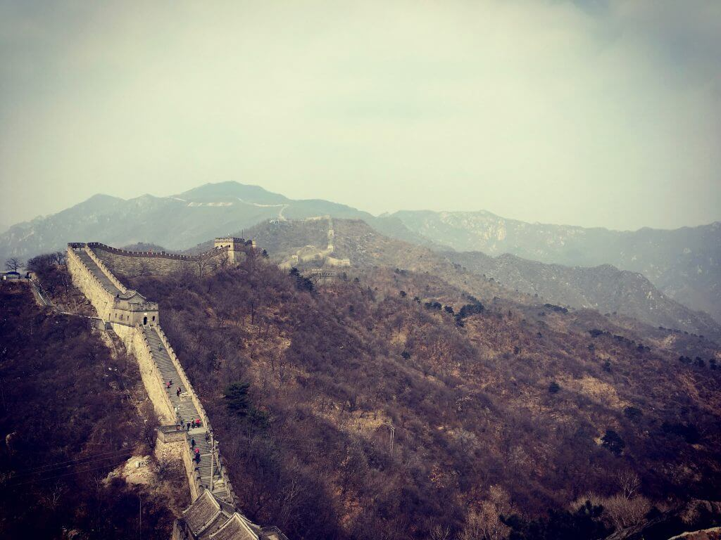 Die top 5 Peking Highlights: Blick auf die Chinesische Mauer bei Mutianyu
